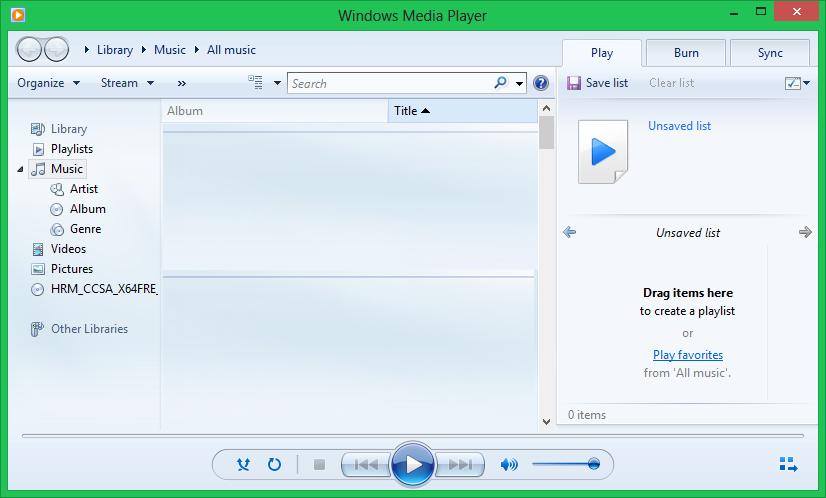 Cleaning Duplicates with Windows Media Player