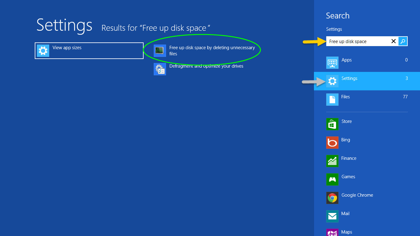 Reclaim your Space Using Disk CleanUp