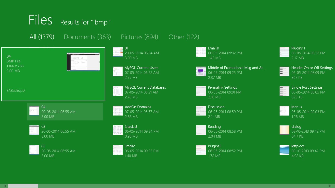 how to open a gif file in windows 8
