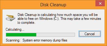 Disk Analyzation Process