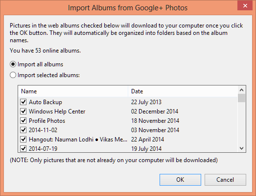how to delete photos from picasa import file